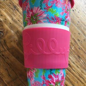 Lily Pulitzer Ceramic Travel Mug